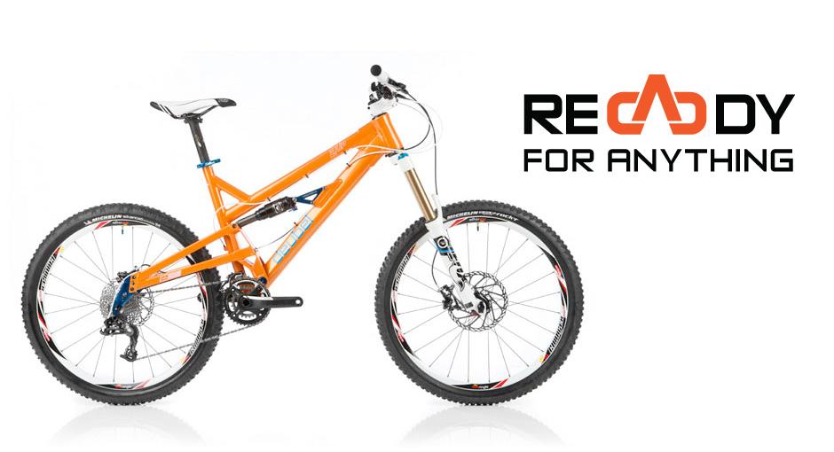 2UP All Mountain bike